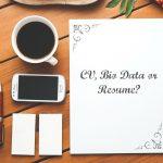 cv biodata and resume
