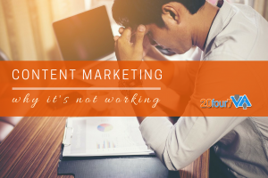 content marketing not working