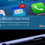 email marketing sins