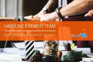 tips remote team management