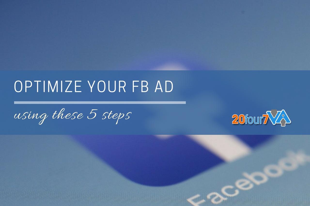 optimize fb ads