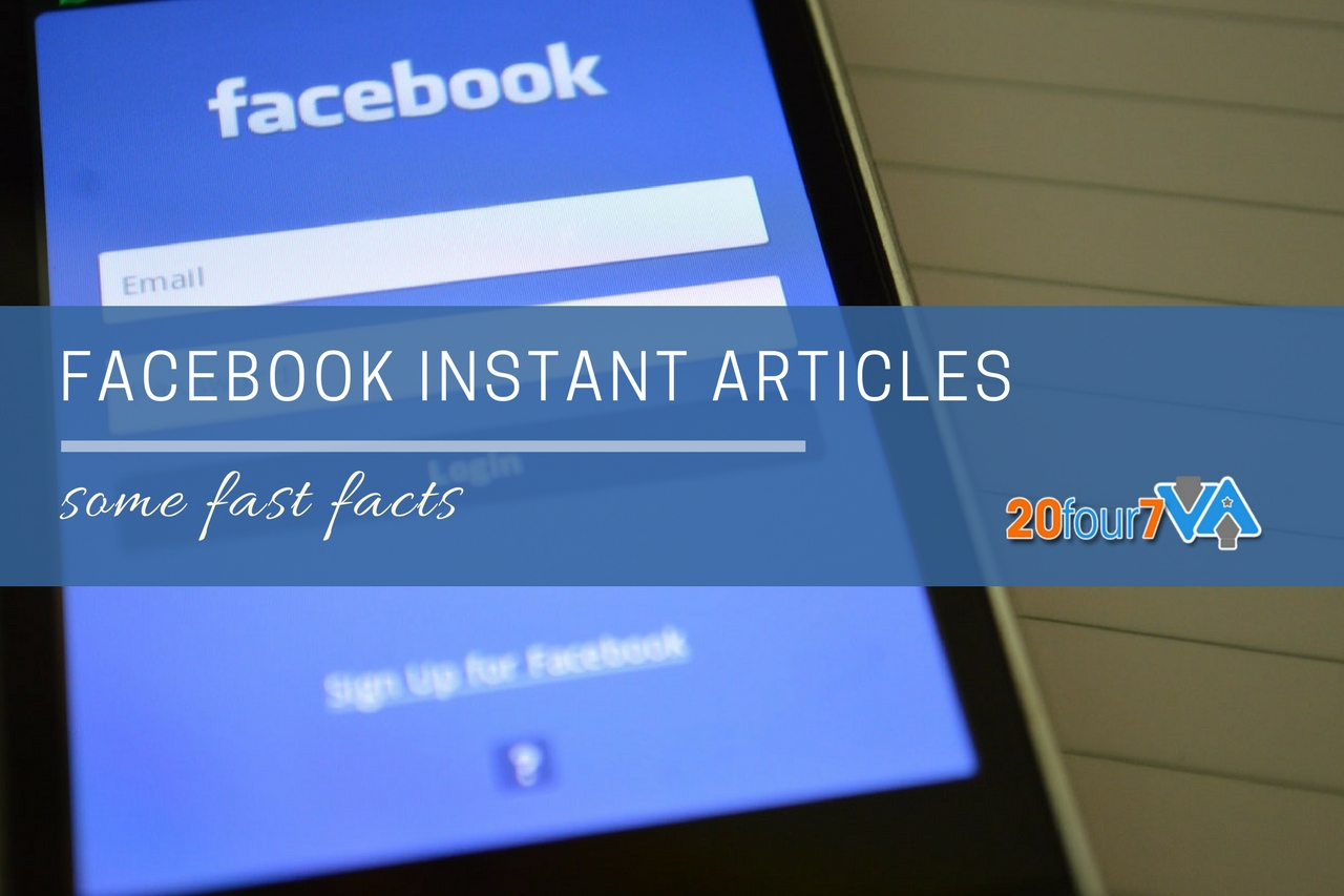 facts about facebook instant articles