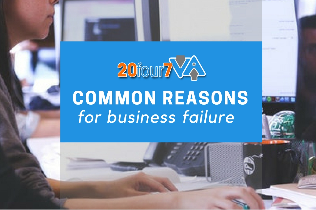 common reasons why startups fail