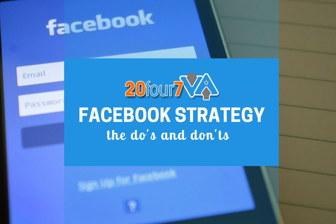 The Do's and Don'ts of Using Facebook for your Small Business