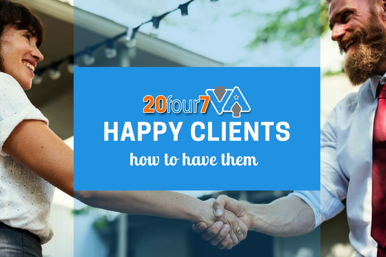 7 Ways to Make Your Clients Really Happy