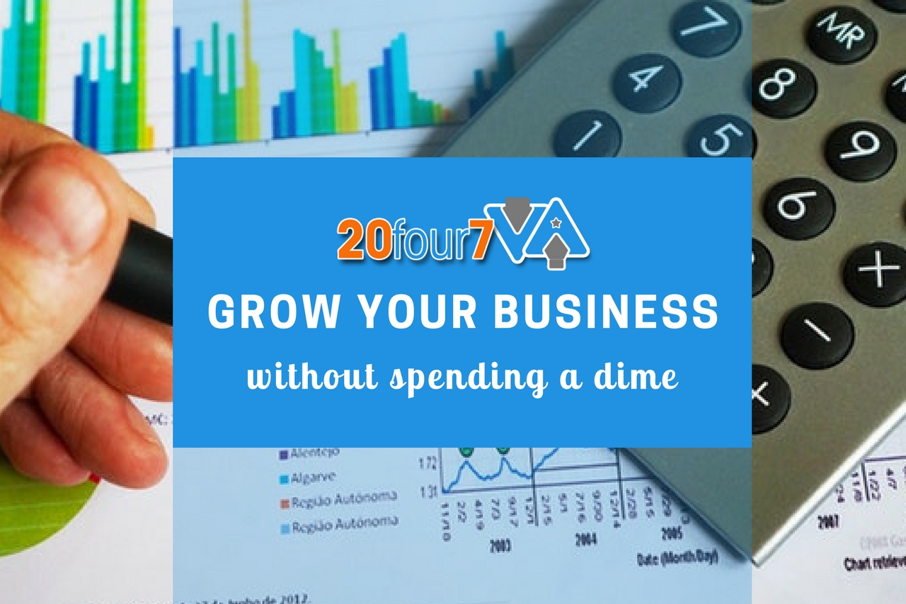 How to Grow Your Business Without Spending Money