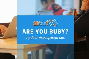 management tips for busy people