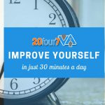 self improvement in just 30 minutes a day