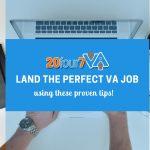 land the perfect virtual job