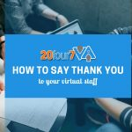 how to thank your virtual staff