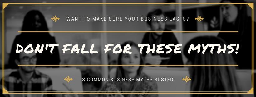 3 common myths
