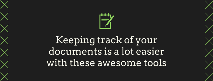5 Tools That Make Managing Documentation Less Terrible