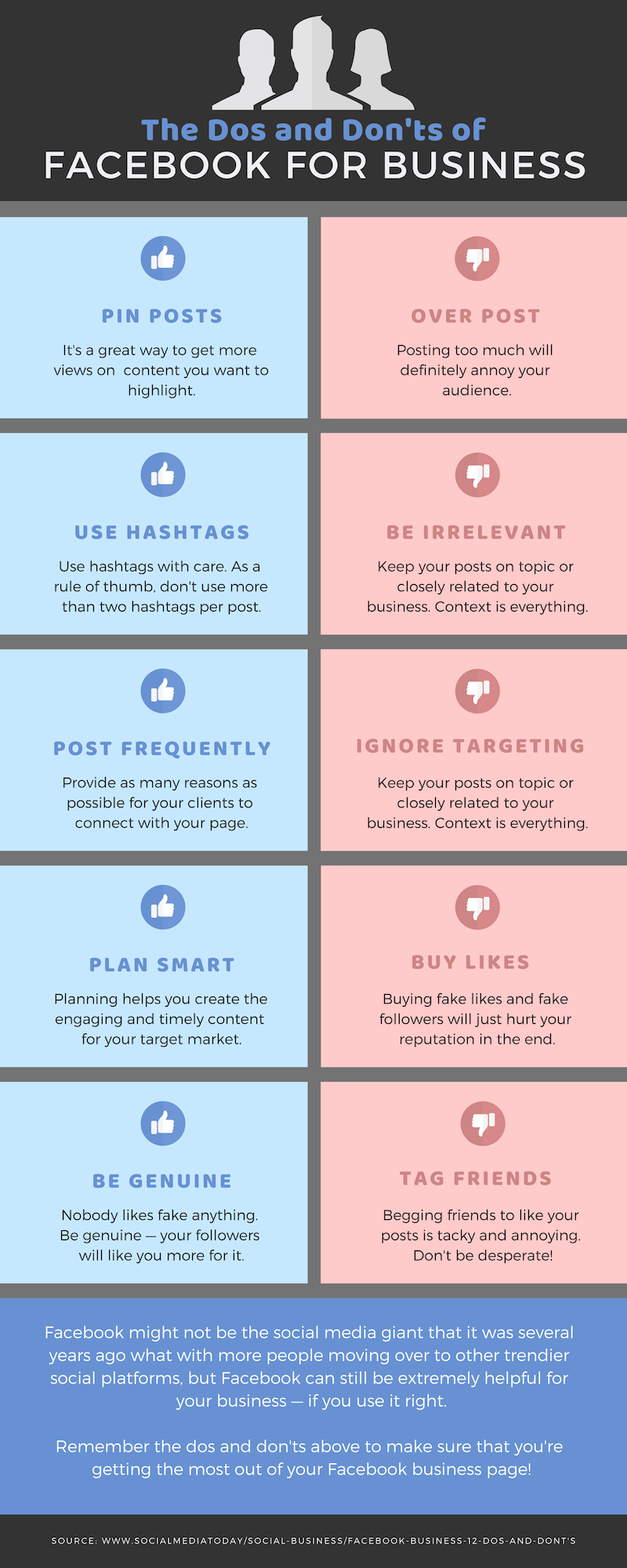 The Dos and Dont's of Facebook for Business