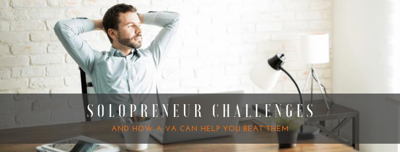 4 challenges of solopreneurs