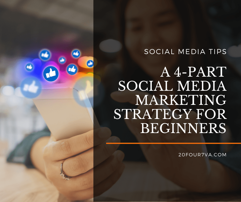 A 4-Part Social Media Marketing Strategy for Beginners - 20four7VA