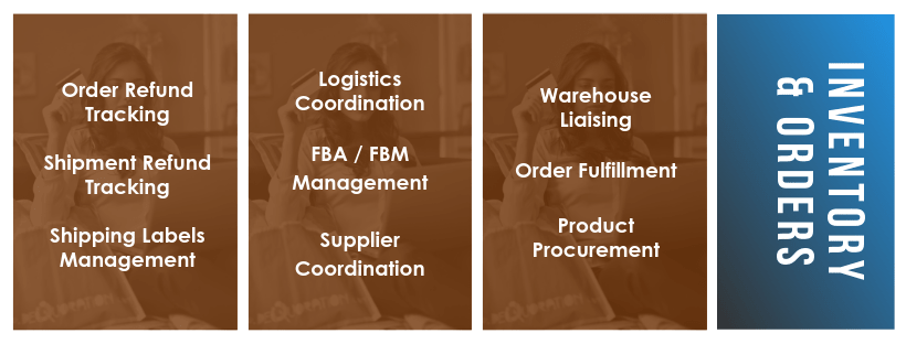 ecommerce VA tasks - inventory and orders