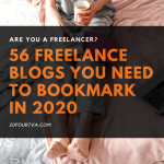 56 Freelance Blogs You Need to Bookmark In 2020