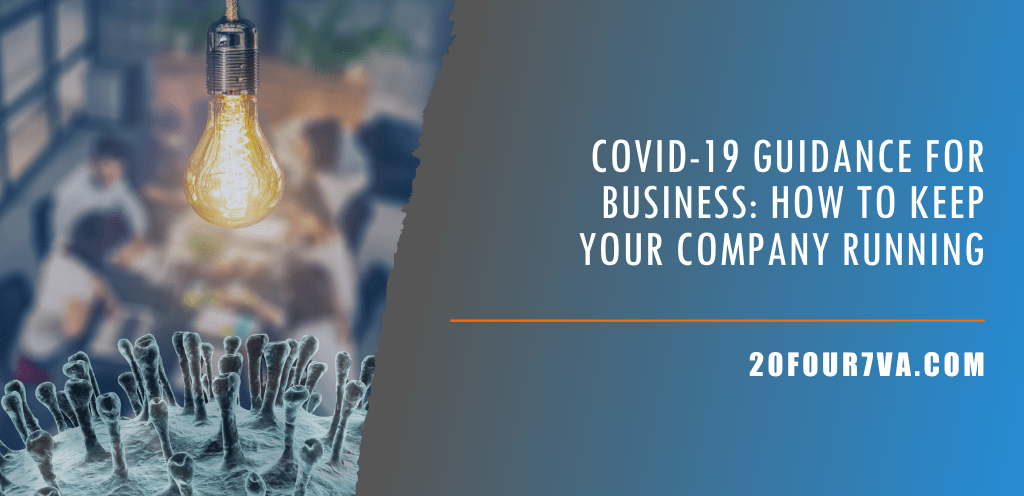 COVID-19 guidance for business - How to keep your business running amidst coronavirus
