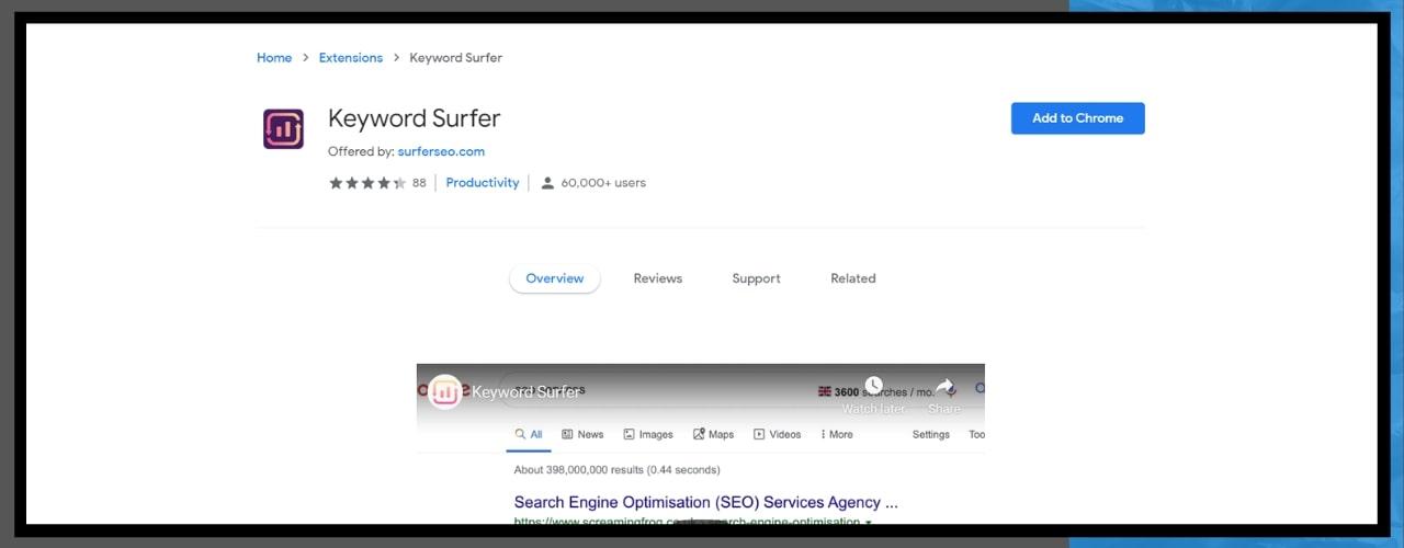 keyword-surfer