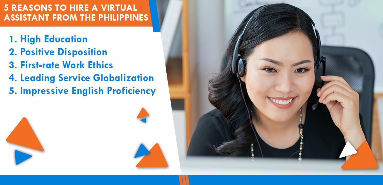 5 Reasons to Hire a Virtual Assistant from the Philippines