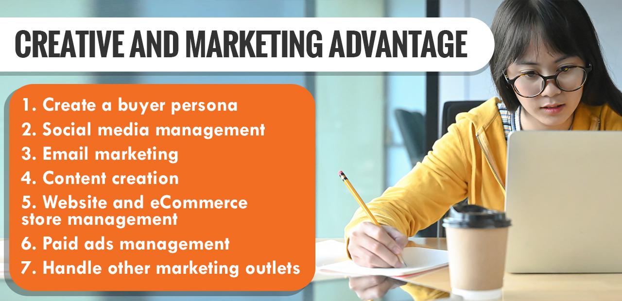 Creative and Marketing Advantage