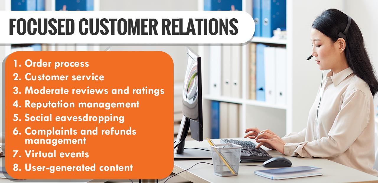 Focused Customer Relations
