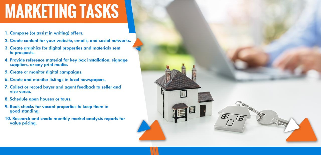 Marketing Tasks