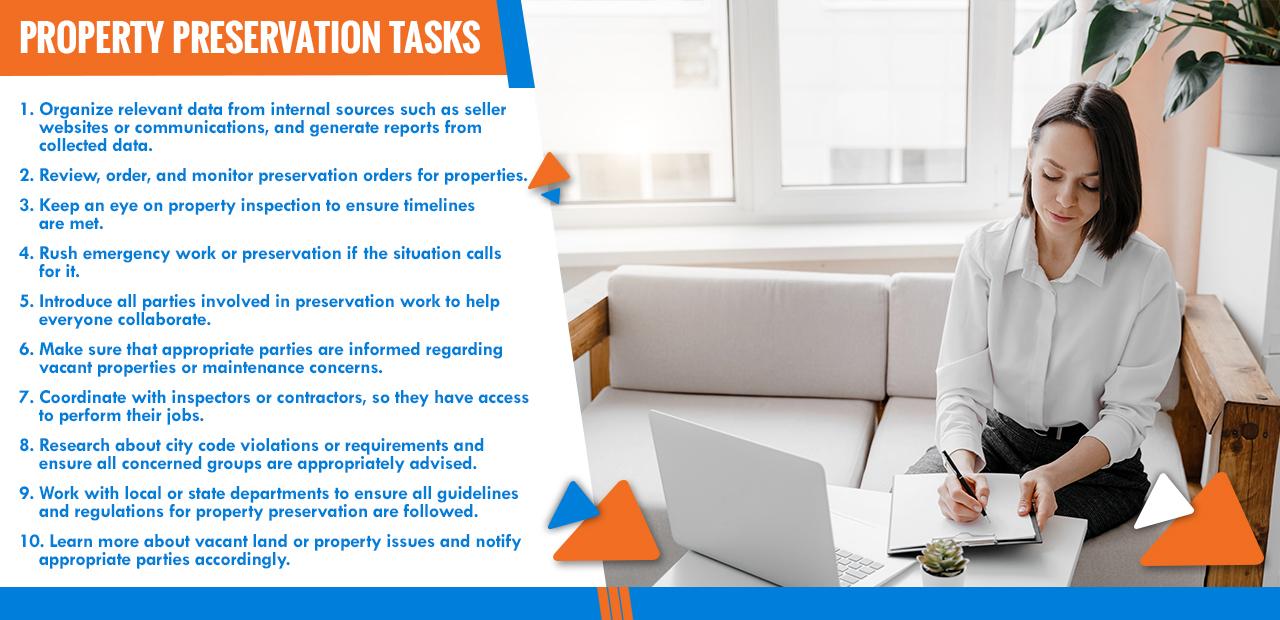 Property Preservation Tasks