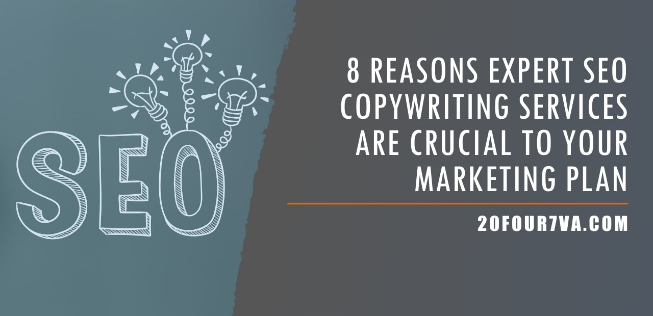 8 Reasons Expert SEO Copywriting Services Are Crucial to Your Marketing Plan