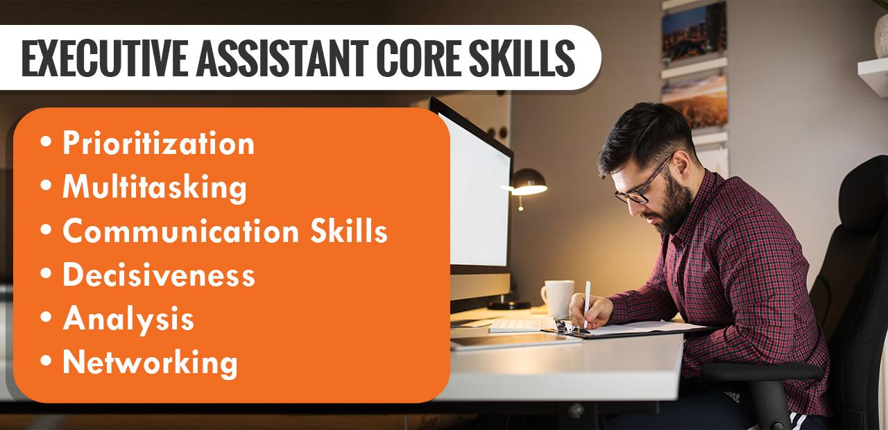 Executive Assistant Core Skills