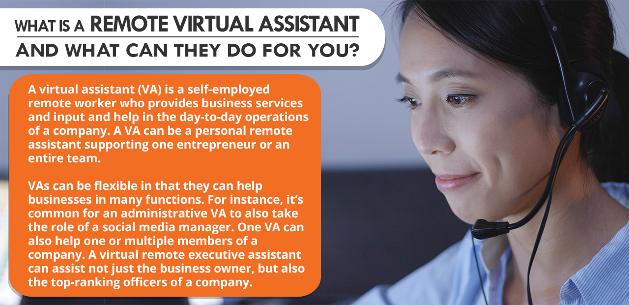 What is a Remote Virtual Assistant and What Can They Do For You?