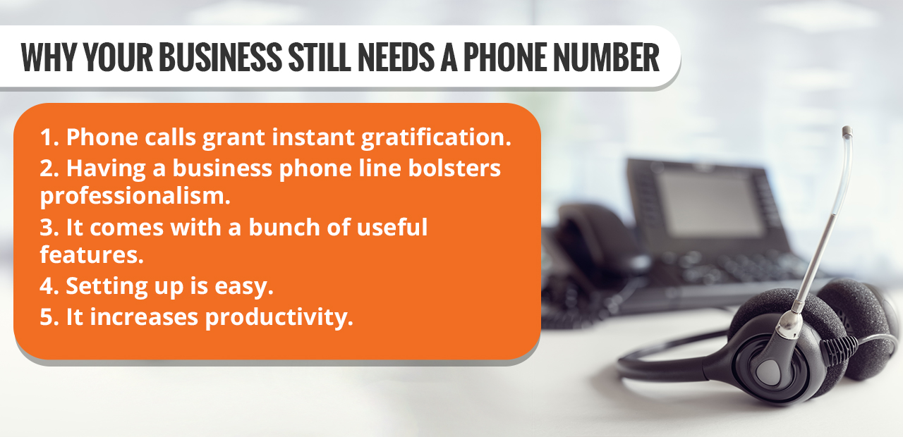 Why Your Business Still Needs a Phone Number