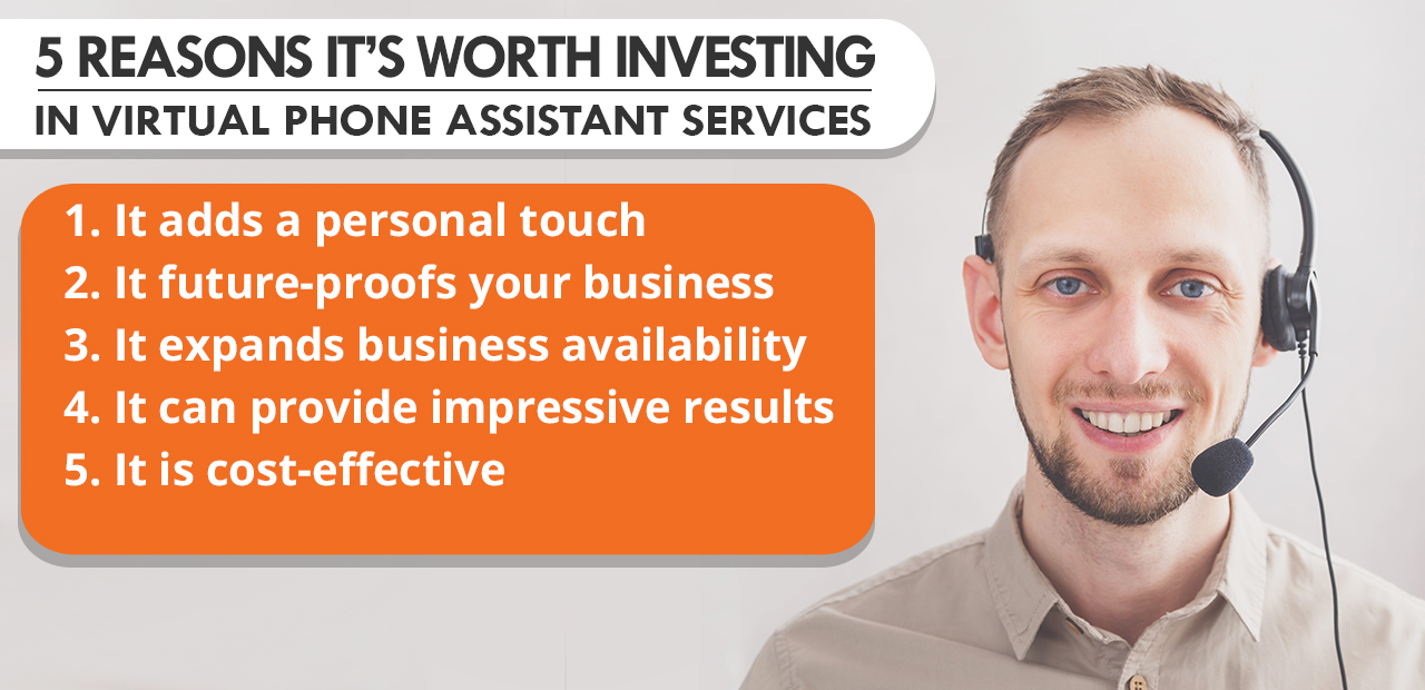 5 Reasons It's Worth Investing in Virtual Phone Assistant Services