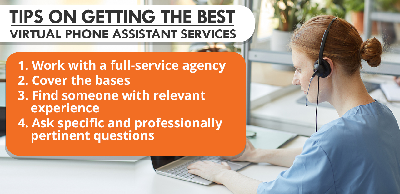Tips on Getting The Best Virtual Phone Assistant Services
