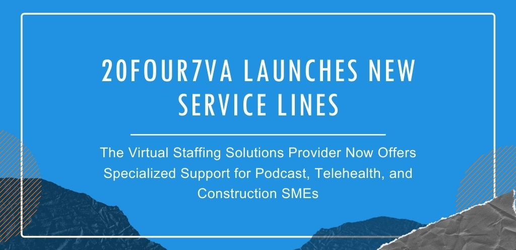 20four7VA Launches New Service Lines - Press Release