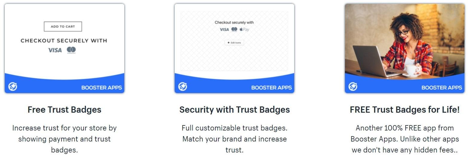 trust hero shopify app