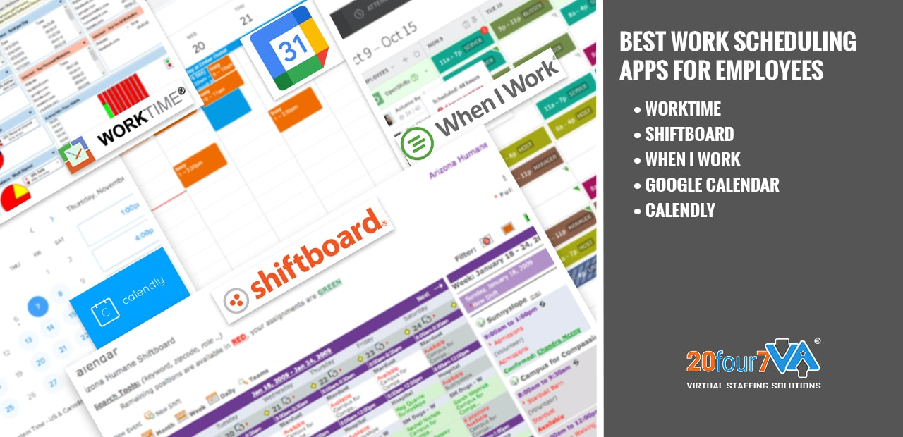 best work scheduling app for employees - 20four7va