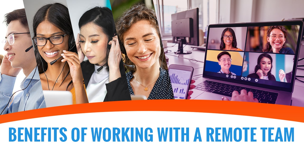 benefits of working with a remote team header image