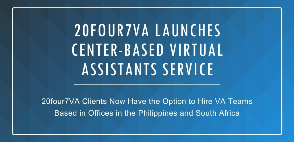Center-based virtual assistants service launched by 20four7VA