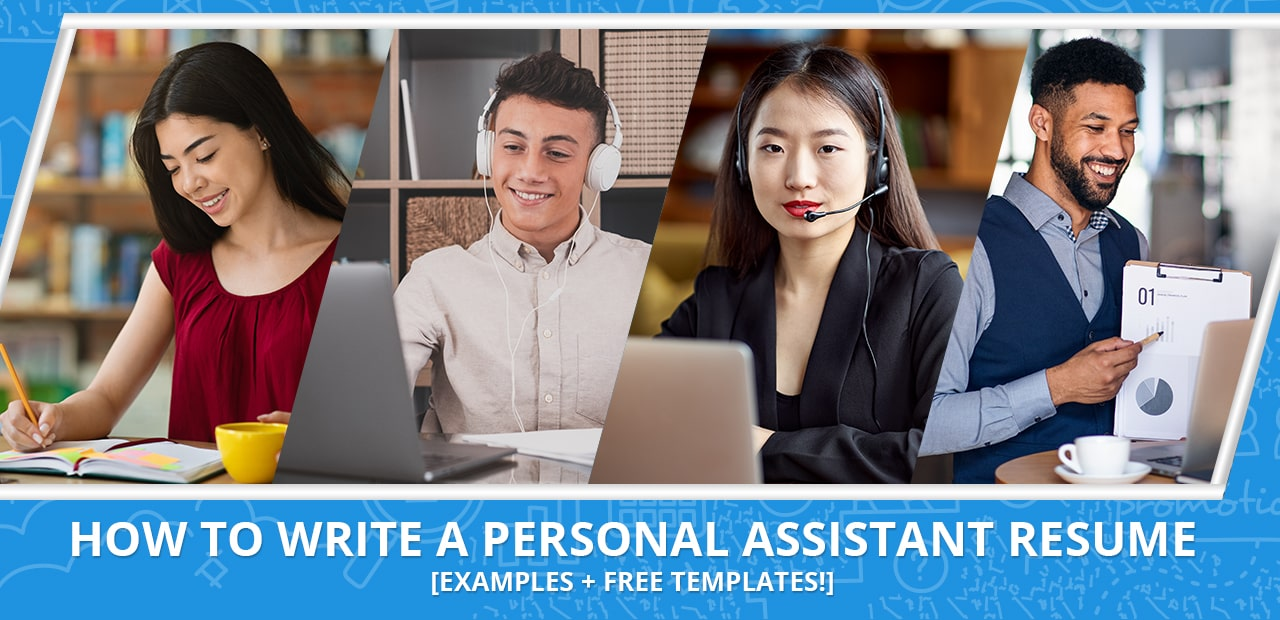 How to write a personal assistant resume header