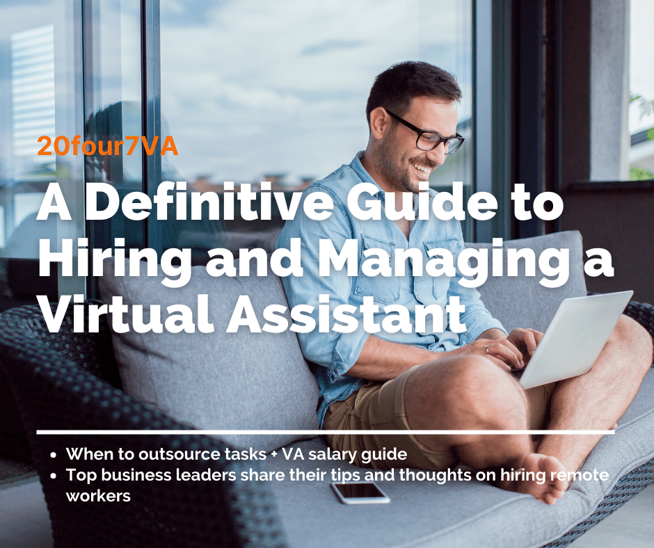 definitive guide to hiring and managing a virtual assistant