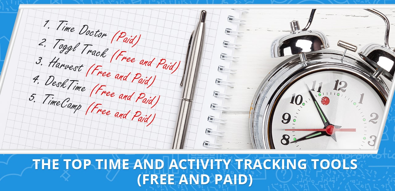 The Top Time and Activity Tracking Tools (Free and Paid)