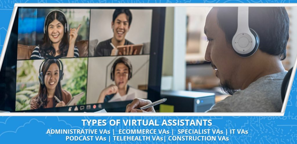 hiring a virtual assistant types of VAs