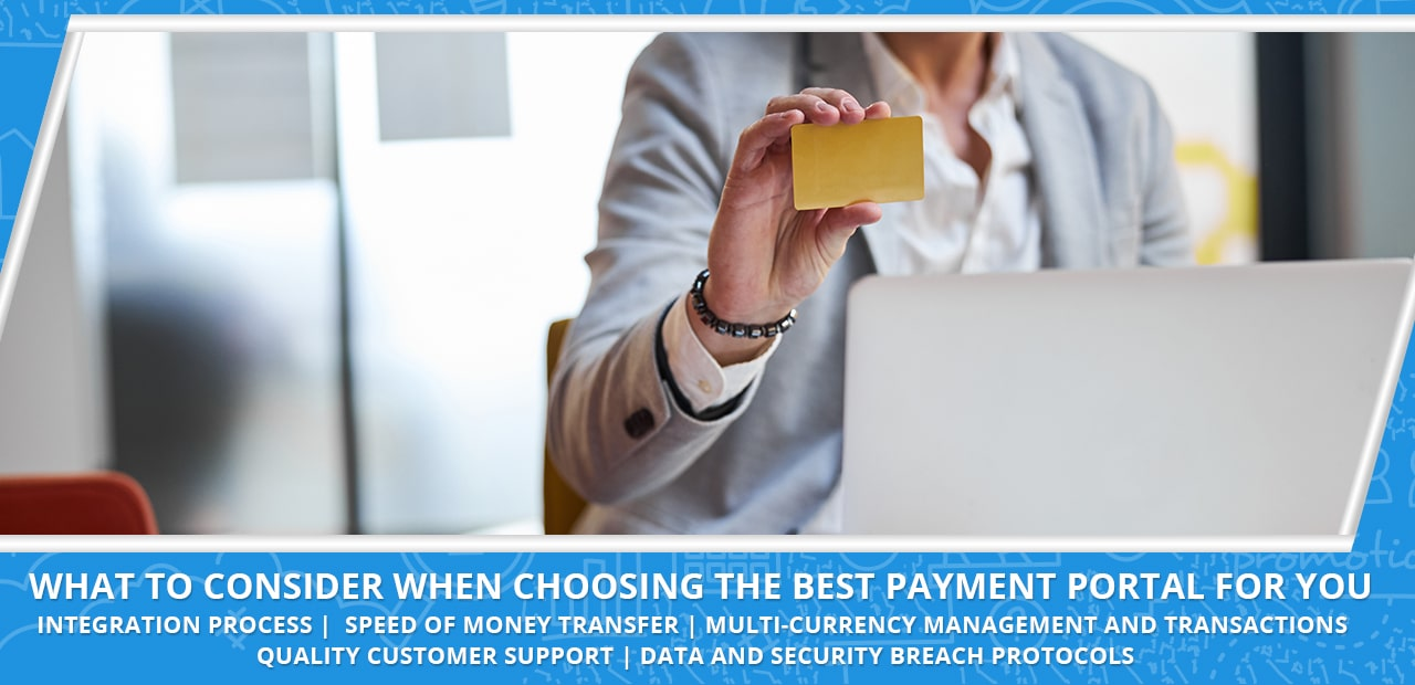 Choosing the best payment portal
