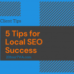 Featured image for the article 5 tips for local SEO success by 20four7VA.com