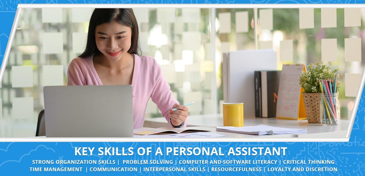 Key Skills of a Personal Assistant - 20four7VA