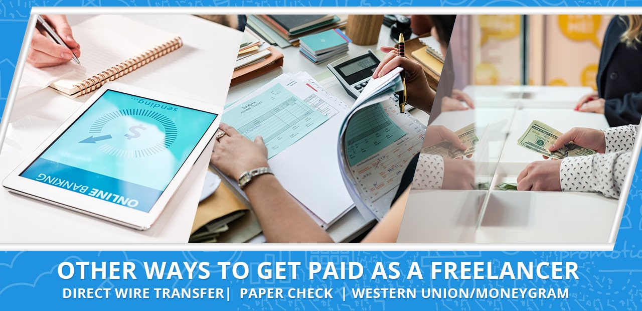 Other ways to get paid as a freelancer