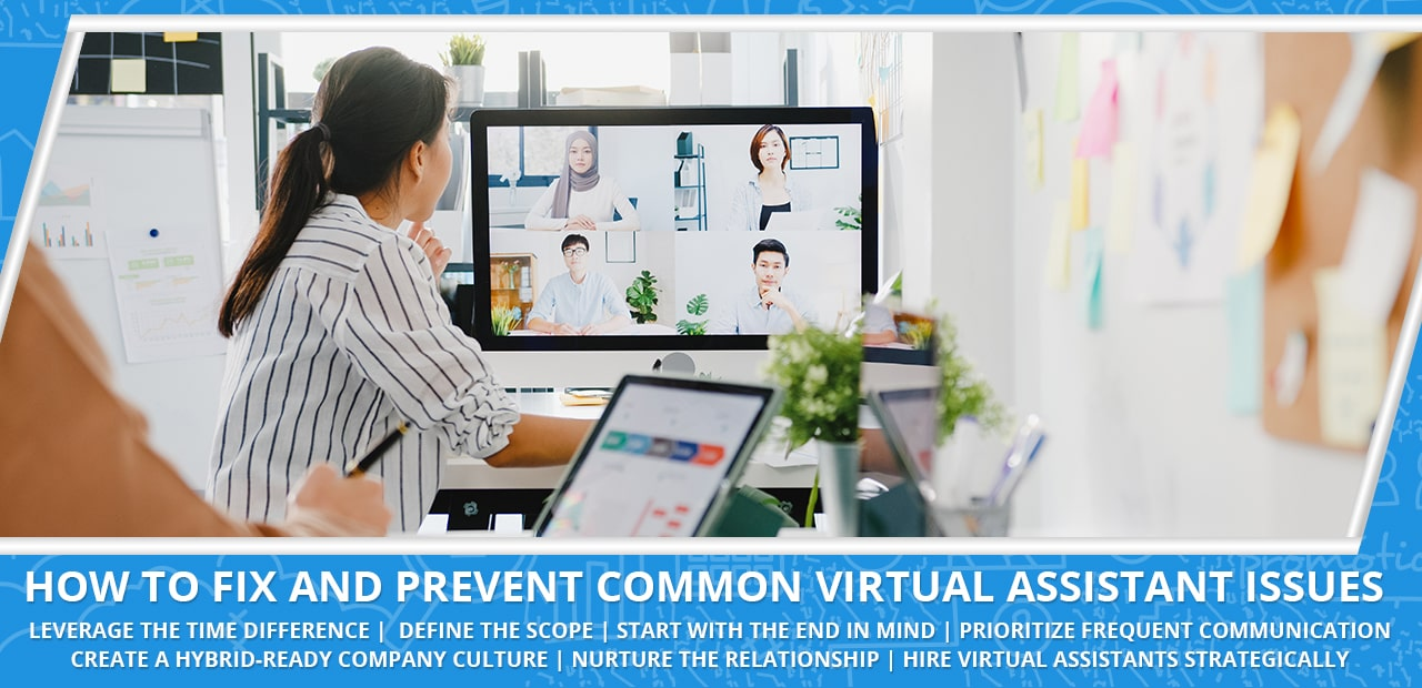 How to fix and prevent common virtual assistant issues
