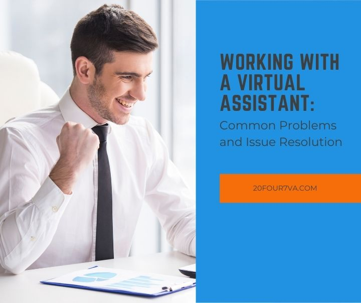 Featured image for the article Working with a Virtual Assistant: Common Problems and Issue Resolution - 20four7VA.com